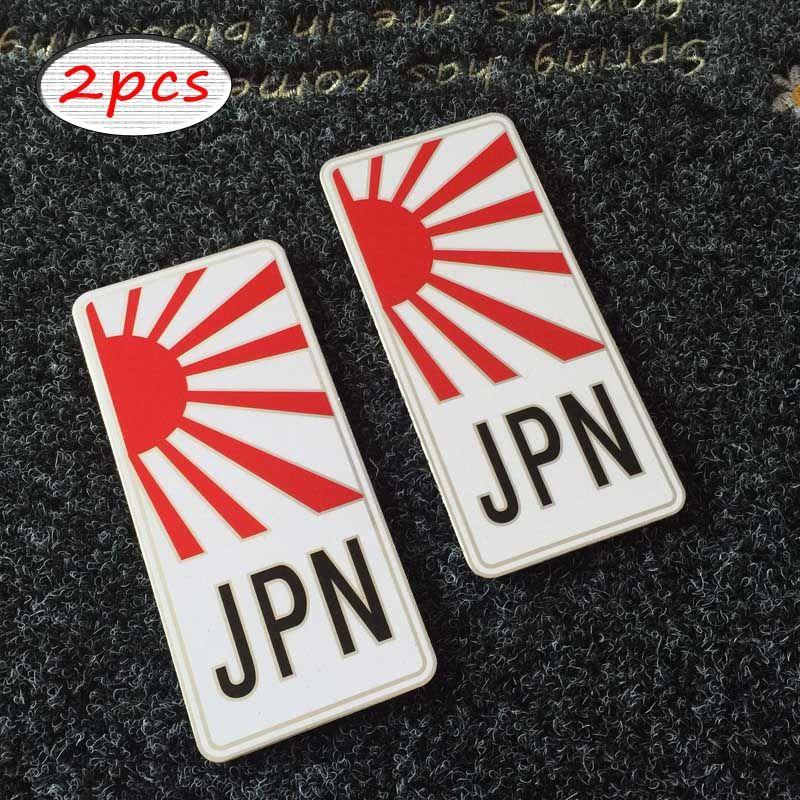 Japanese Style Japan Sunshine Decal Stickers Drift Aluminum - Honda civic decal stickers