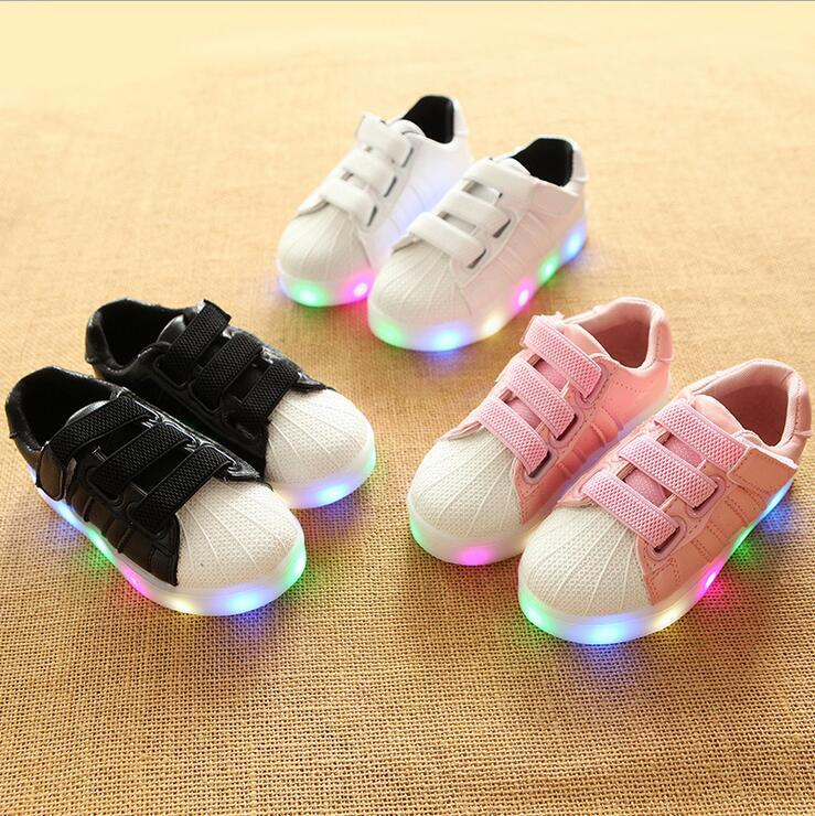 df51743c611 New Fashion Lovely Kids Shoes High Quality Sports Running Children Sneakers  Leisire 5 Stars Girls Boys Shoes Infant Tennis Kids Shoes Children Sneakers  ...