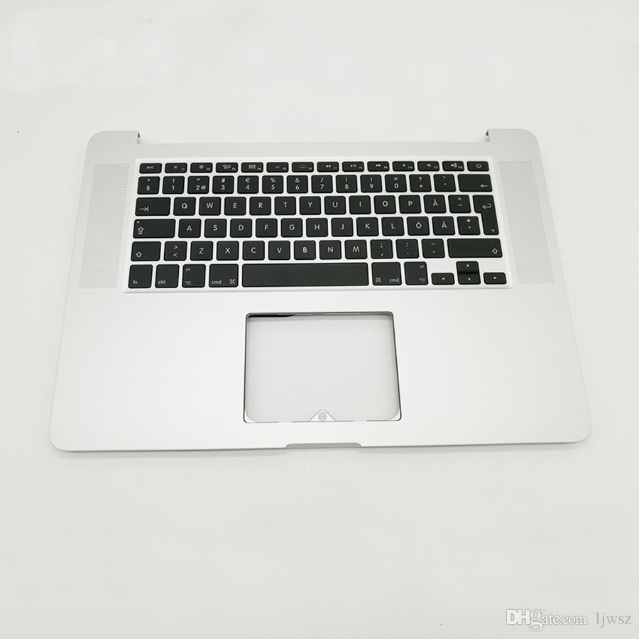 huge selection of fd2d9 fa653 New For Macbook Pro Retina 15 A1398 Sweden Top Case Keyboard Swedish  Keyboard 2015 2016 Replacement