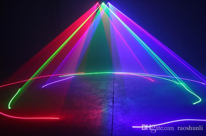 Three head red green Blue RGB pub laser beam light/line laser/dj laser