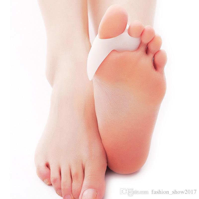 عالية الكعب سيليكون القدم أداة العناية النعال تقويم العظام الورم باديكير أقدام العناية الإبهام أروح مصحح لل أصابع فاصل