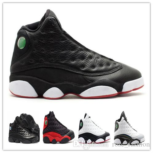 Cheap 13 Atmosphere Grey BRED Playoff Cherry Chicago Basketball Shoes 13s Cap and Gown Athletics Men&women Sneakers Footwear with box