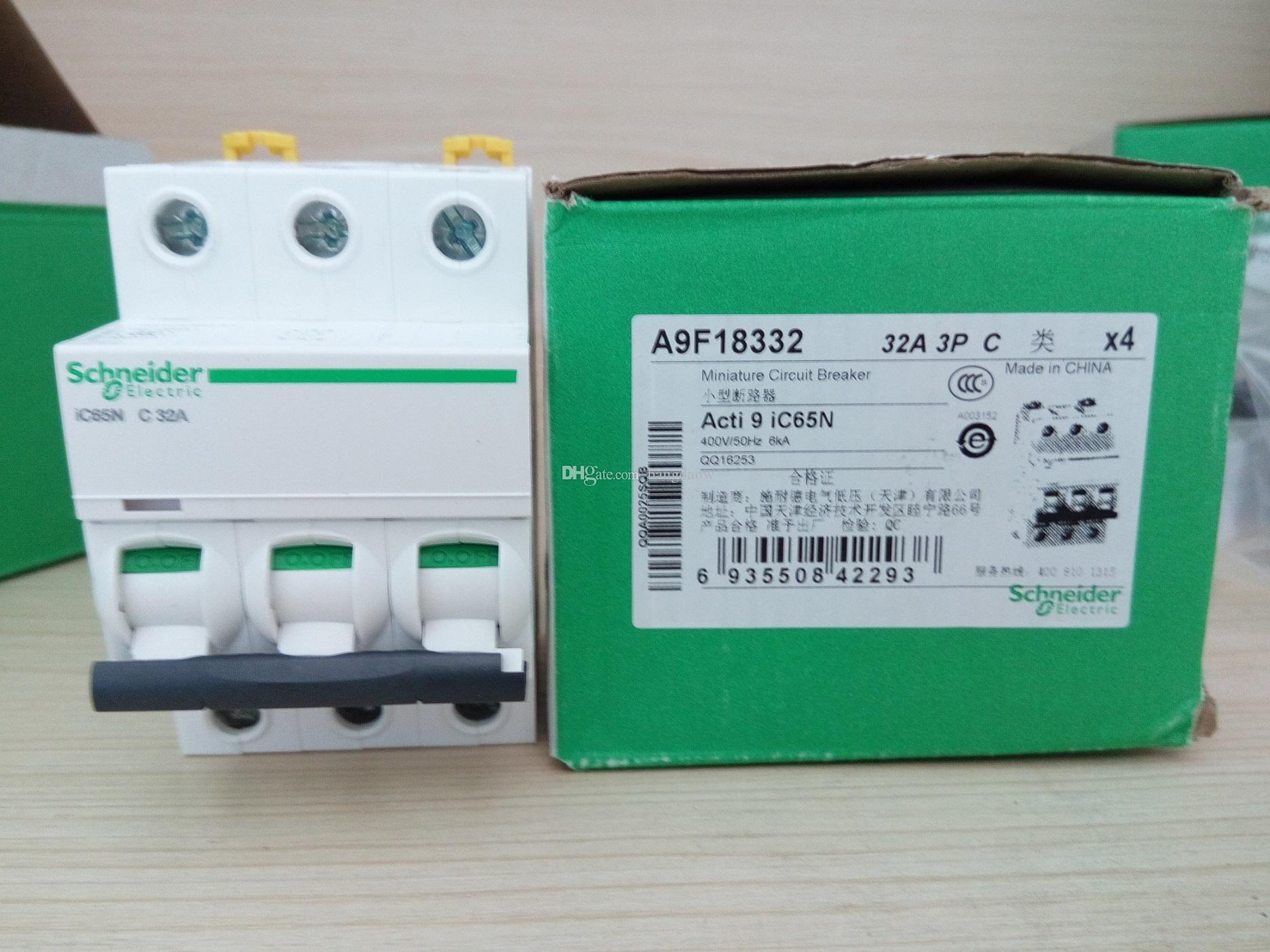 2018 Schneider Ic60n Miniature Circuit Breaker Acti9 Ic65n C32a 3p China Box From Bangdaow 1609
