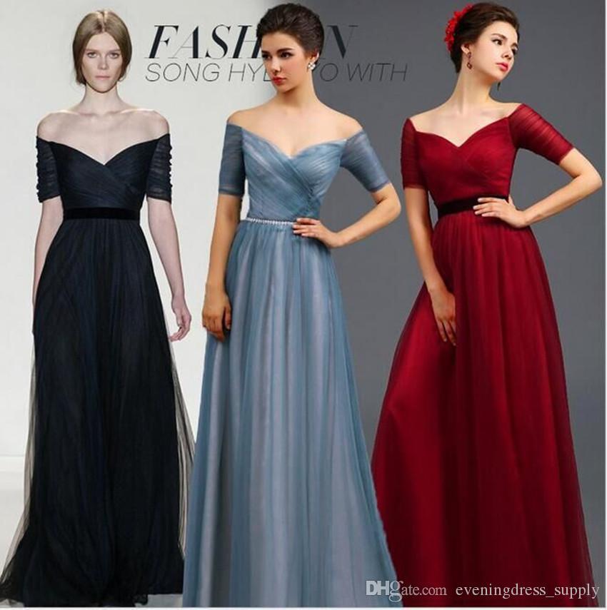 2017 New Arrival Long Toast Evening Dress Women Bride Dressed ...