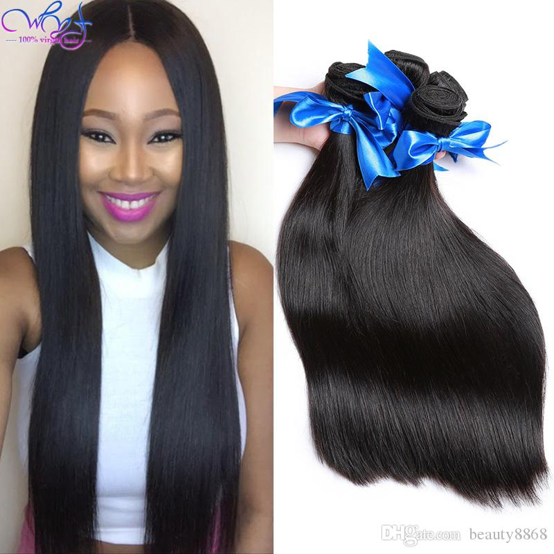 3 Pack Indian Straight Virgin Hair Weave Unprocessed 8a Raw Indian