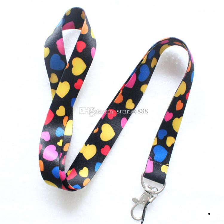 Hot sale wholesale cartoon Animation image phone lanyard fashion keys rope exquisite neck rope card rope 495
