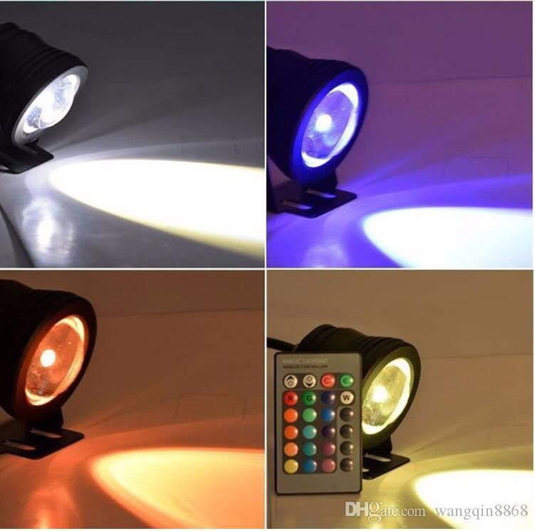 10W 12v LED Floodlight underwater RGB Led Waterproof IP65 Outdoor Lighting Fountain