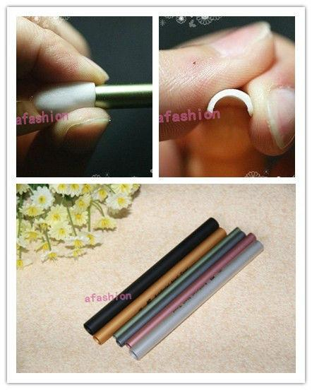 Wholesale- 6pcs Metal C Curve Nail Rod make French tips Art Acrylic Sticks Form Tools Manicure unhas posticas