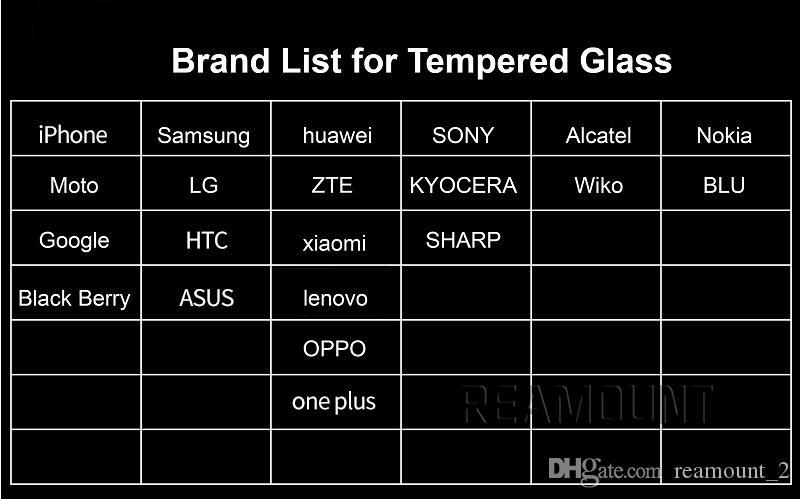 Großhandels-ausgeglichenes Glas-Schirm-Schutz für Samsung-Galaxie S3 S4 S5 S6 erstklassiger ultra HD Film mit Kleinkasten + Tüchern