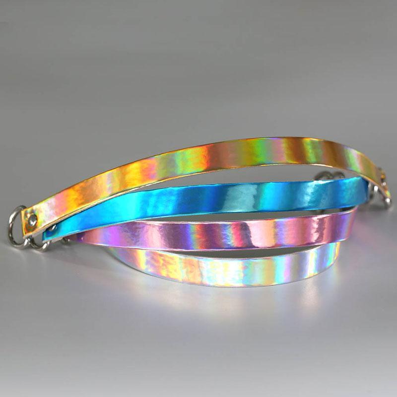 Liebes-Herz-Verschluss-Anhänger-Laser-PU-Leder-Halsketten-Halsband-Halsketten-Kragen-Untersklaven-Halskette mit Schlüssel Frauen-Statement-Schmucksachen 162096