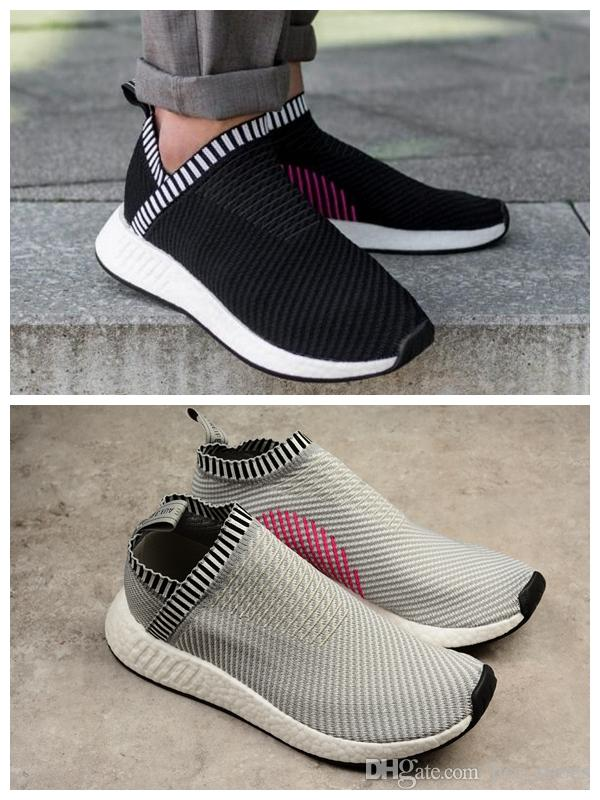 online store 0fe2a 65f60 NMD CS2 Primeknit Shock Ronin Pink City Sock 2 Shoes Sports Women And Men  Running Shoe Spring Summer 2017 Sneakers Ultra Boost 36 44 Mens Sale Cheap  Running ...