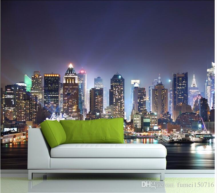 manhattan 3d papel de paede, new york city large mural wallpapermanhattan 3d papel de paede, new york city large mural wallpaper night background scenery tv sofa bed paper parede mobile wallpapers mobile wallpapers in hd