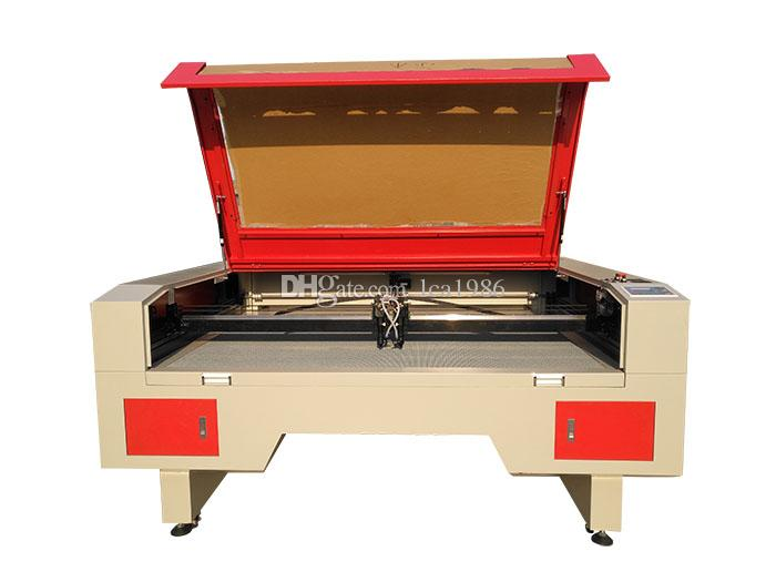 1612 tabela corte machine.honeycomb laser de CO2 150W utilizado para o ABS, acrílicos, tecido, couro e outros materiais não-metálicos