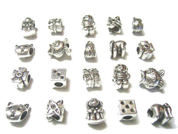 / Mish Style Tibet Argento Charms Perline DA TE Craft Moda Gioielli Regalo Spedizione gratuita C18