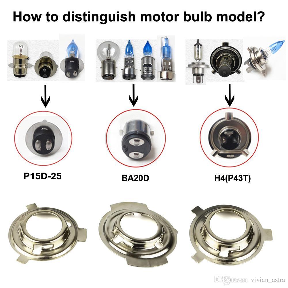 Xenon moto 35W Motorcycle hid lights xenon kit H4 Hi/Lo headlight bulbs universal BA20D H6M 8000K 6000K headlamp fog lights lamp