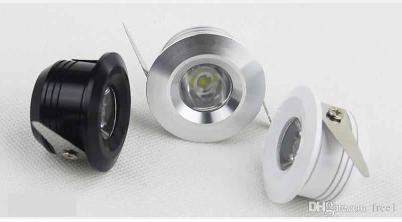 ad alta potenza led da incasso dimmerabile 3w mini led da incasso a soffitto plafoniere 300lm AC110-240V bianco caldo / freddo + driver 30 / 60angle CE