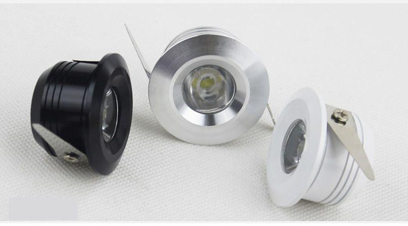 наивысшая мощность Сид downlight dimmable 3W миниое Сид утопило потолочные освещения 300lm AC110-240V греет / холодная белизна + водители 30 / 60ANGLE CE