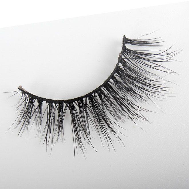 Luxury brand design Mink Eyelashes 3D Multi Layers Lash Extension Pure Handmade False Eyelash Winged ME002 Natural crisscross lash Daily Eye
