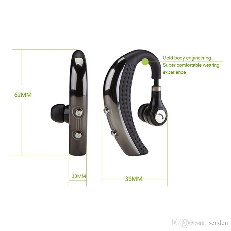BH693 Wireless Bluetooth 4.0 Headset Ohrbügel Kopfhörer Stereo Sport Kopfhörer Ohrhörer Ohrhörer mit Mikrofon für LG iphone 6 7 Samsung S6 s7