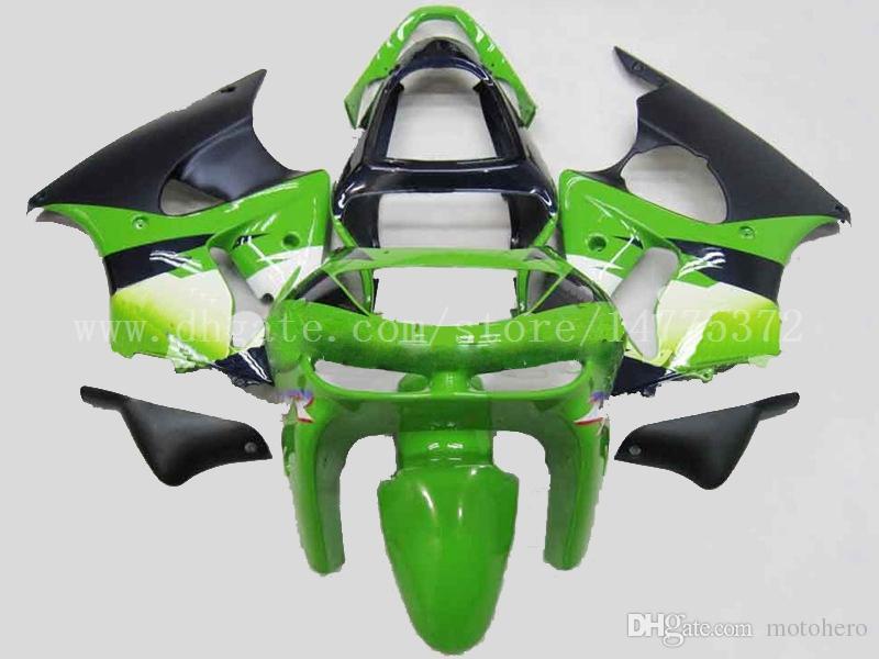 100% new fairings for Kawasaki NINJA ZX 6R 1998 1999 ZX-6R 98-99 ZX6R 1998-1999 ZX6R 98-99 fairing kit #d73h4 green