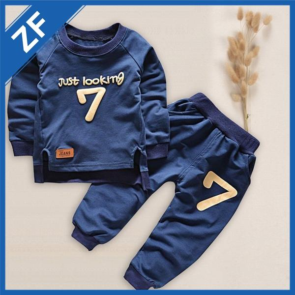 1aeda52de 2019 Fashion Boy'S Suit Toddler Kids Baby Boy Outfits Black Hot Clothes No  Pain No Gain Letters Printed T Shirt Top+ Pants Cool Child Sets From  Formore, ...