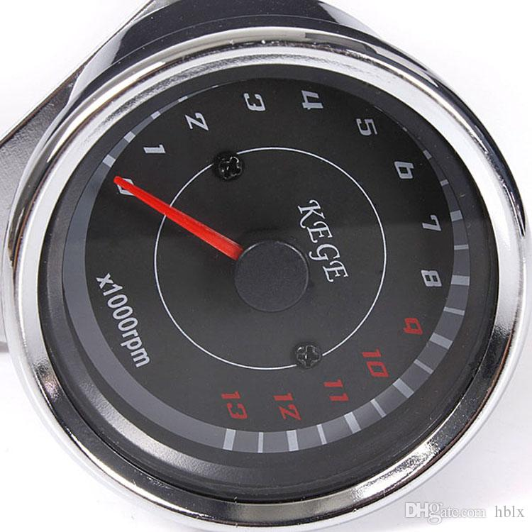 High Quality Motorcycle Speedometer Tachometer Odometer Rev Counter 0-13000 RPM AUP_303