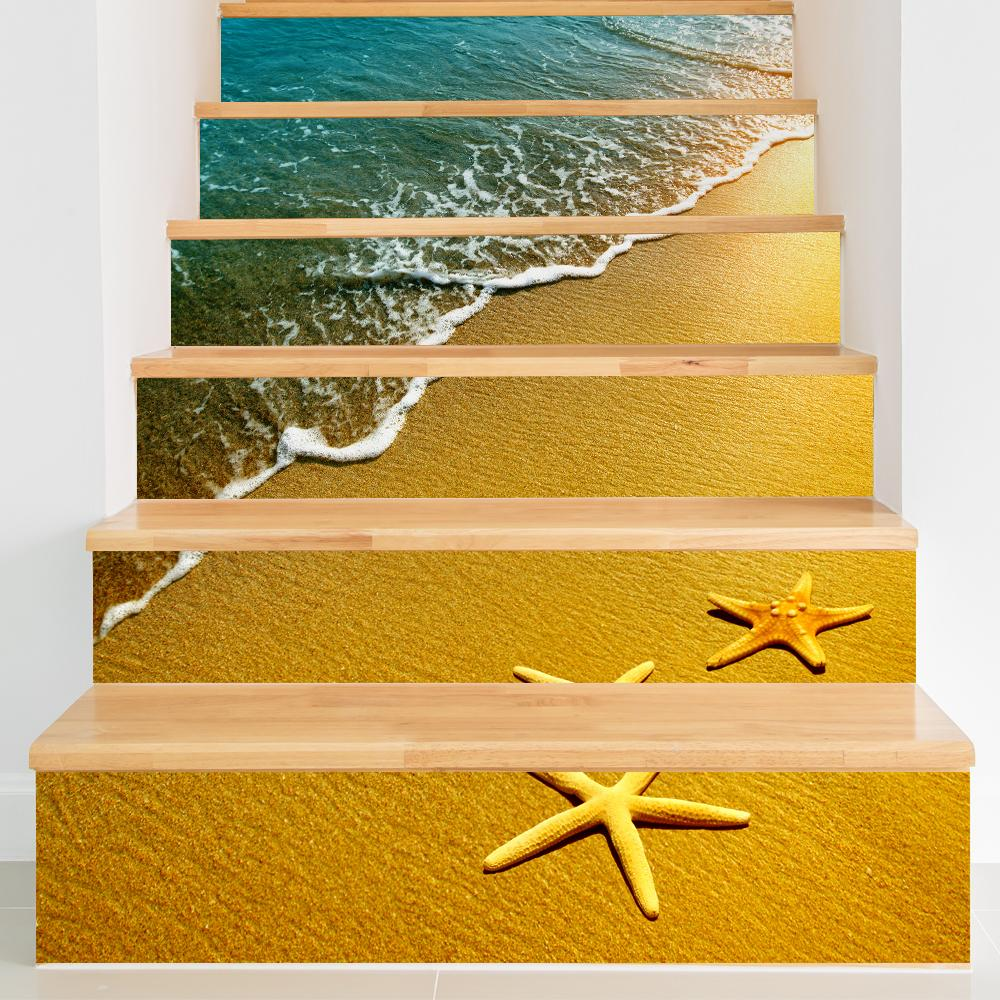 3d creative diy steps sticker removable stair sticker home decor