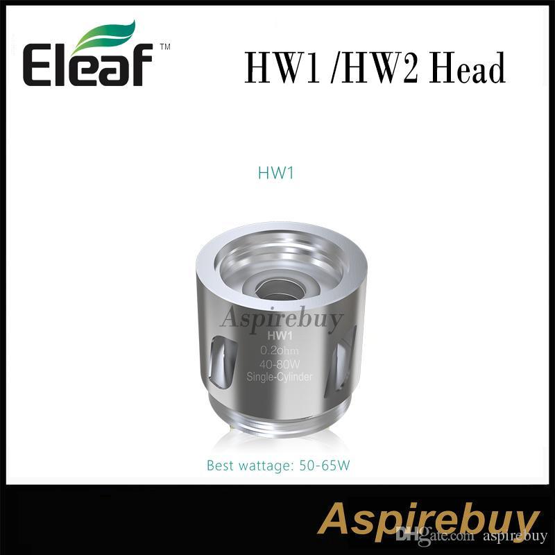 لفائف ذات اسطوانة واحدة من Eleaf HW1 0.2ohm و HW2 Head ذات اسطوانة مزدوجة