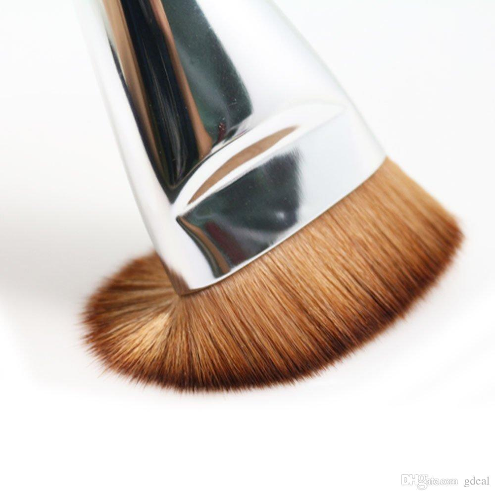 Hot Makeup Toola 163 Flat Contour Brush Large Face Blend Makeup Brush 3 Type Foundation Face Powder Brushes DHL Free