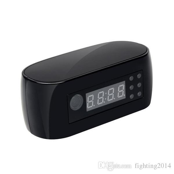 1080P Wifi Clock Camera with Night Vision Mini P2P IP Camera Wireless Pinhole Cam Home Security Surveillance Mini Camcorder Baby Monitor