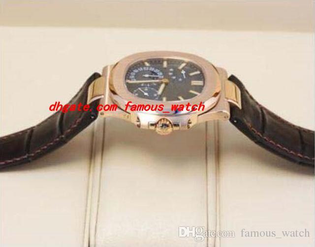 Neue Art und Weise Luxuxuhr Neue automatischer N @ UTILUS 5712R-001 MINT COMPLETE Herrenuhr Herrenuhr Top-Qualität MAN-Uhr-Armbanduhr