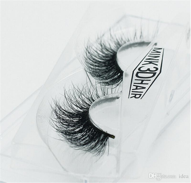 Boa qualidade new mink 3d cabelo high-end casaco de vison Handcrafted olho final puxar um longo cílios postiços fabricantes direto bem-vindo ao personalizar