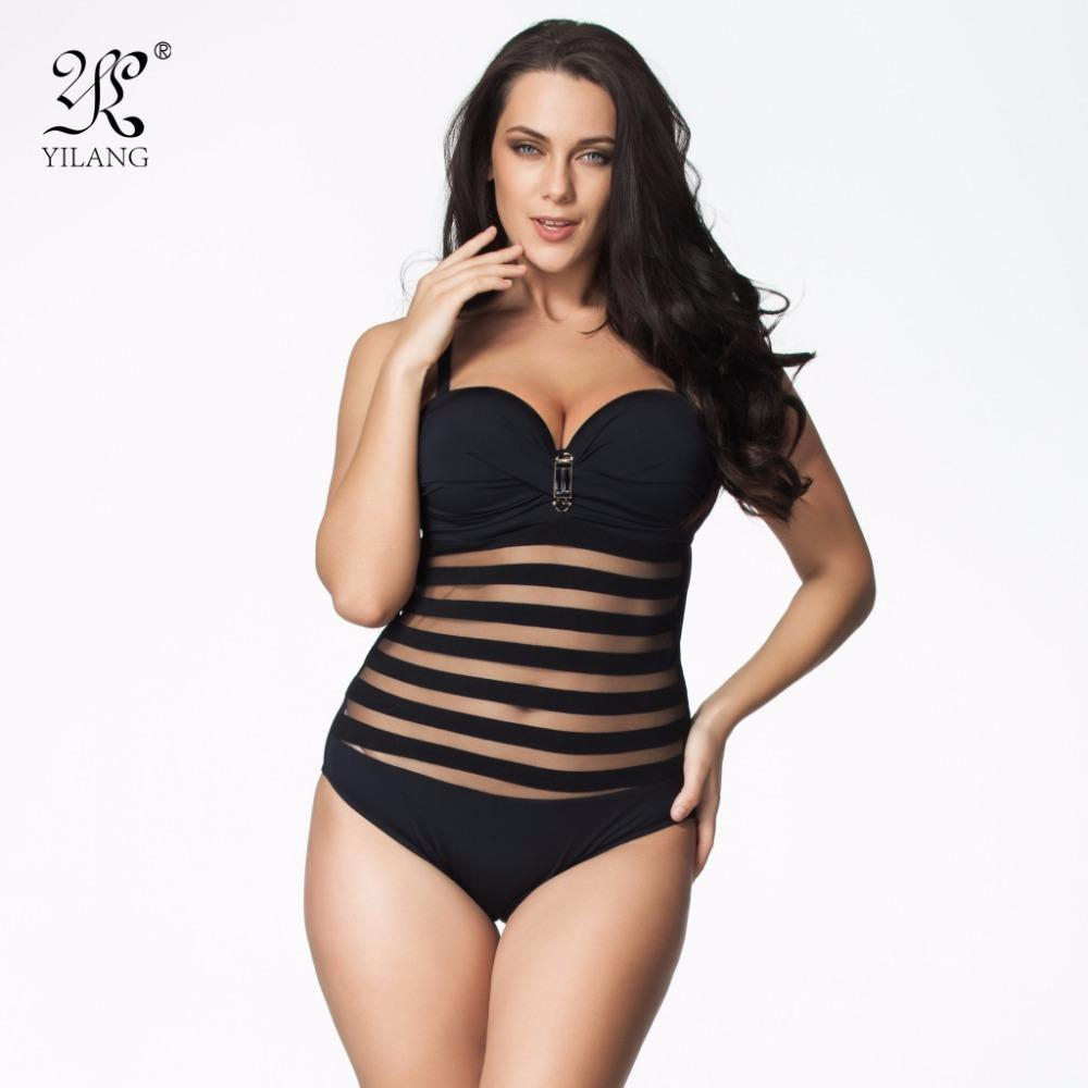458e6f65cdc 2019 Wholesale Hot Sale Plus Size Swimwear Women One Piece Swimsuits Sexy  Lace Hollow Out Transparent Bathing Suit Push Up Brazilian Monokini From  Felix06, ...