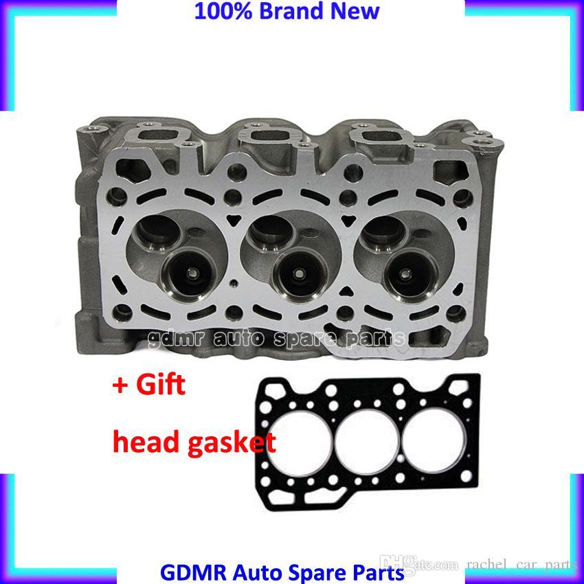 Engine parts bare cylinder head F8CV 96316210 96642705 96642707 96642708  M96642708 for Daewoo Matiz Petrol 0 8L 1998-2002