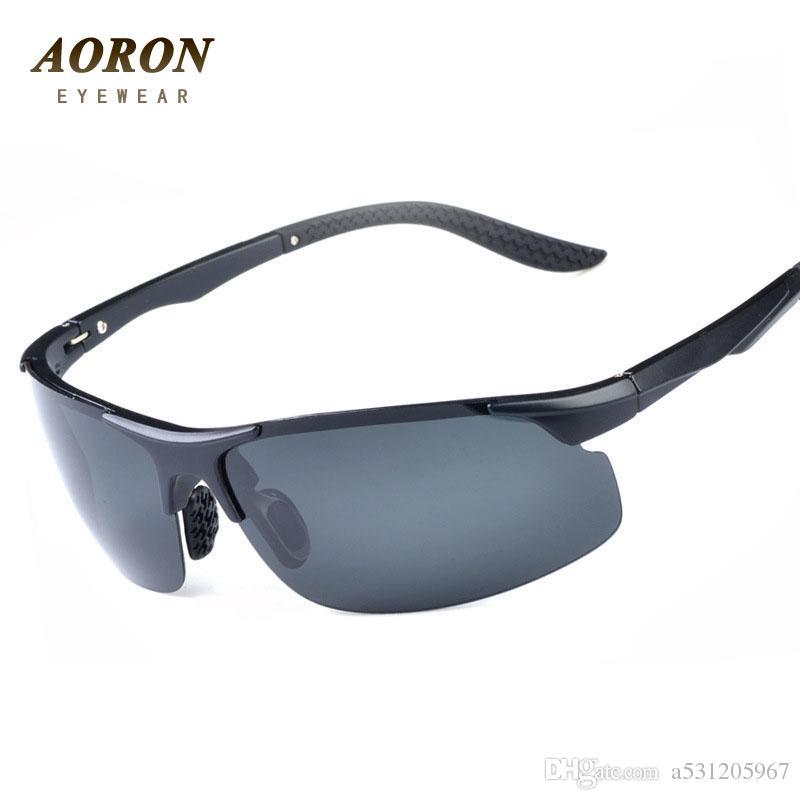 016ce4ee0f3 AORON Men S TR90 Polarized Sunglasses Driving Sun Glass Driver Goggles  Night Vision Eyewear Oculos De Sol Brand Designer Victoria Beckham  Sunglasses ...