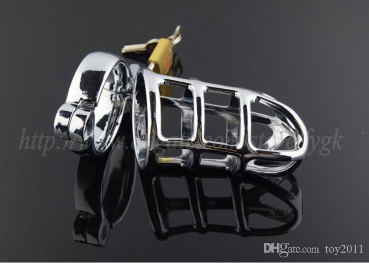 Male chastity cock cage lock CB3000 chastity device metal anti-masturbation sex toys stainless steel chastity small cage