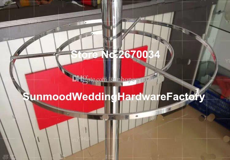Zihinsel stand sadece lattest metal kaide için standları çiçekler / metal zemin vazo standı / trompet metal geçit düğün için duruyor