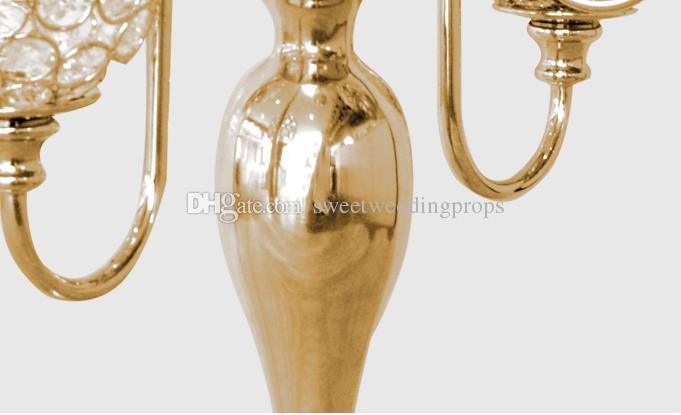 centerpeice for wedding decoration/gold vase centerpiece/gold center pieces wedding decoration