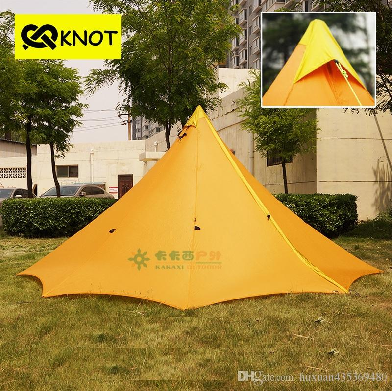 See larger image & Outdoor Camping Teepee Tent 4 Person 4 Season Large Ultralight ...