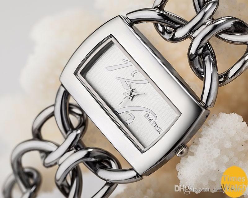 PINTIME Brand Luxury Women Gold Watches Ladies Quality Japan Quartz Movt Wristwatches Bracelet Relogio Feminino Relojes Mujer 86-88