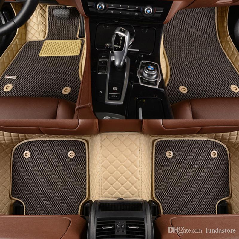 Best Custom Fit Car Floor Mats For Ford Edge Escape Kuga Explorer Fiesta Focus Fusion Mondeo Ecosport Car Accessories Styling Custom Foot Mats Under
