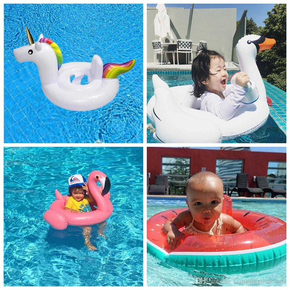 ... Inflatable Pool Floats By 2017 Baby Inflatable Pool Float Flamingo Swan  Watermelon Unicorn ...