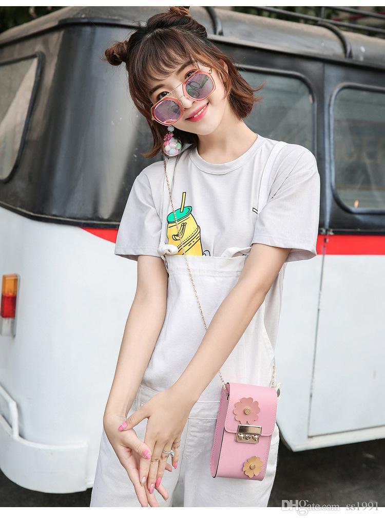 Hot summer new flowers mini package fashion storage shoulder bag Messenger bag female17062101