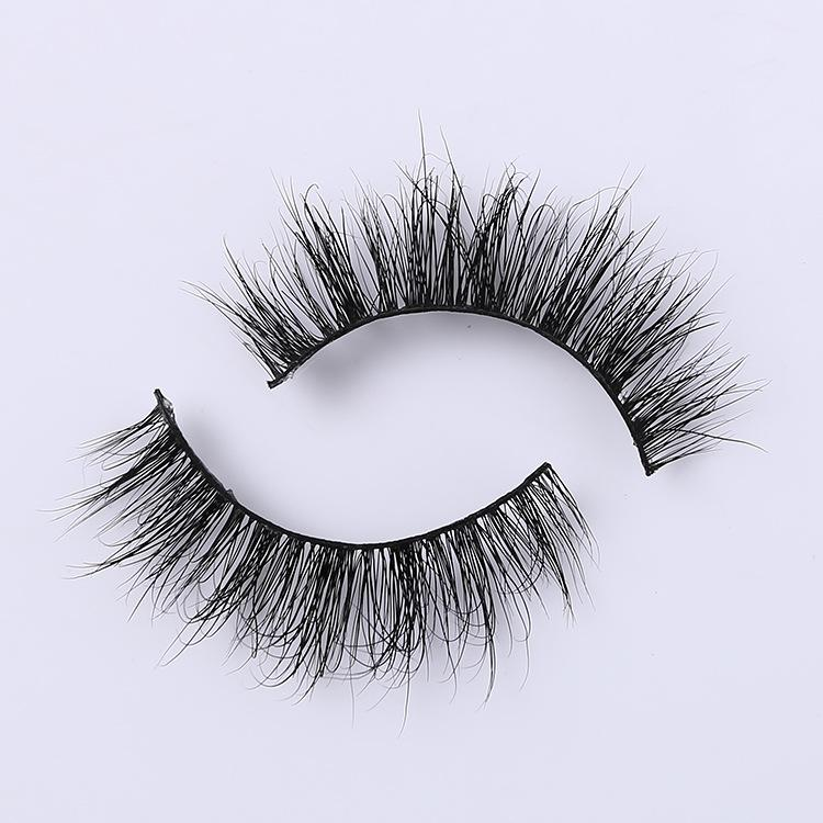 3D 100% Real Mink False Eyelashes makeup Natural Thick Full Strip Eye Lashes Women Beauty hand made A02