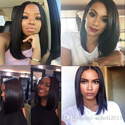 Dora 7A Full Lace Human Hair Wigs For Black Women Silk Straight Brazilian  Virgin Hair Lace Front Human Hair Wigs Human Hair Lace Wigs Uk Brazilian  Curly Wig ... a860fb3573