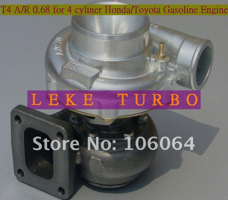 Wholesale New T4 A/R 0.68 Turbo Turbocharger For HONDA For CIVIC For TOYOTA Cylinder Gasoline Engine