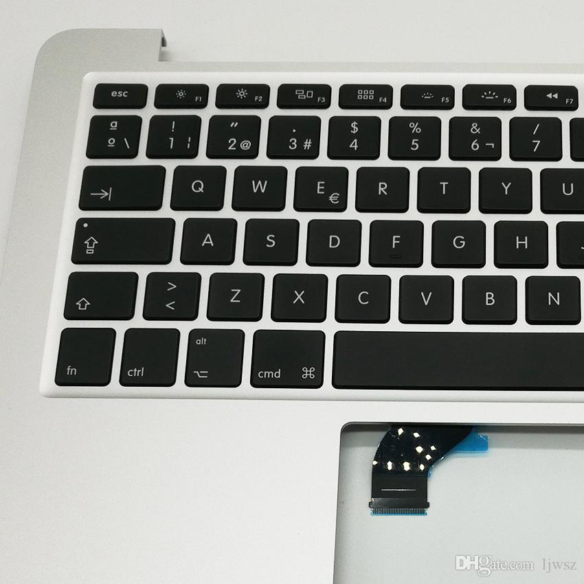 "New For Apple Macbook Pro Retina 13"" A1502 Spian Spainish Keyboard Replacement Topcase Palmrest 2015 2016 Years"