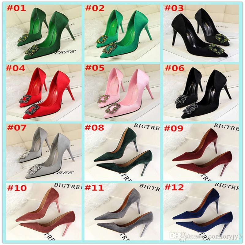40d9b4519d 2017 Women Sexy 216 style High Heels Pointed Toe Pumps Office Shoes Party  Shoe Fashion Stiletto High Heel Pump Pu Patent Leather