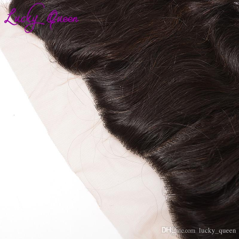 Halo Lady Hair Bundles Brazilian Body Wave With Frontal Closure 13x4 Lace Frontal With Bundles West Kiss Human Hair