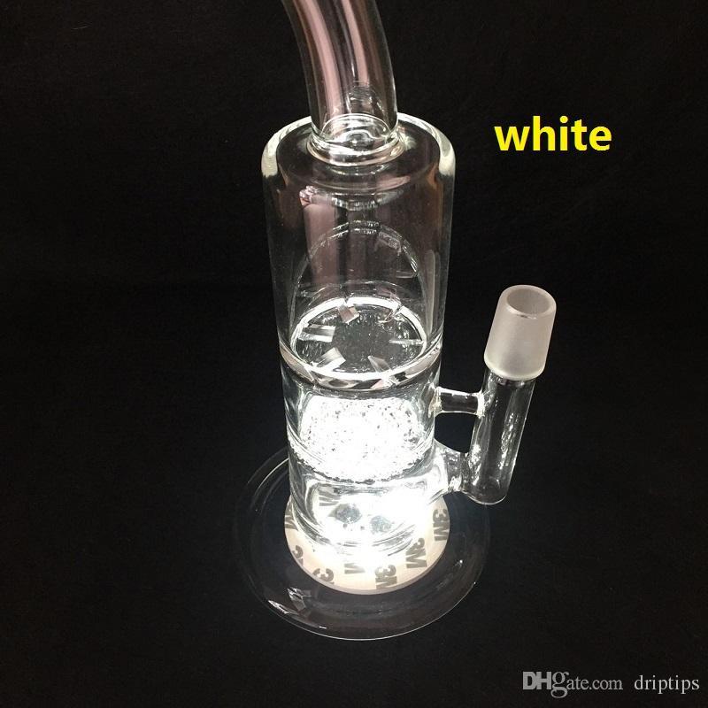 Luce a LED base di vetro Bong Luce a LED i Regolazione automatica in magazzino OVER DHL libero